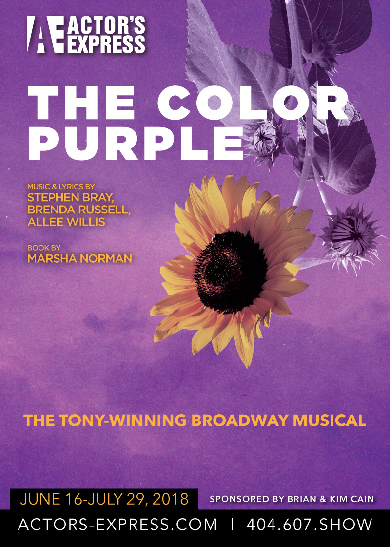 Summer Musical Announced: The Color Purple! | Actor\'s Express
