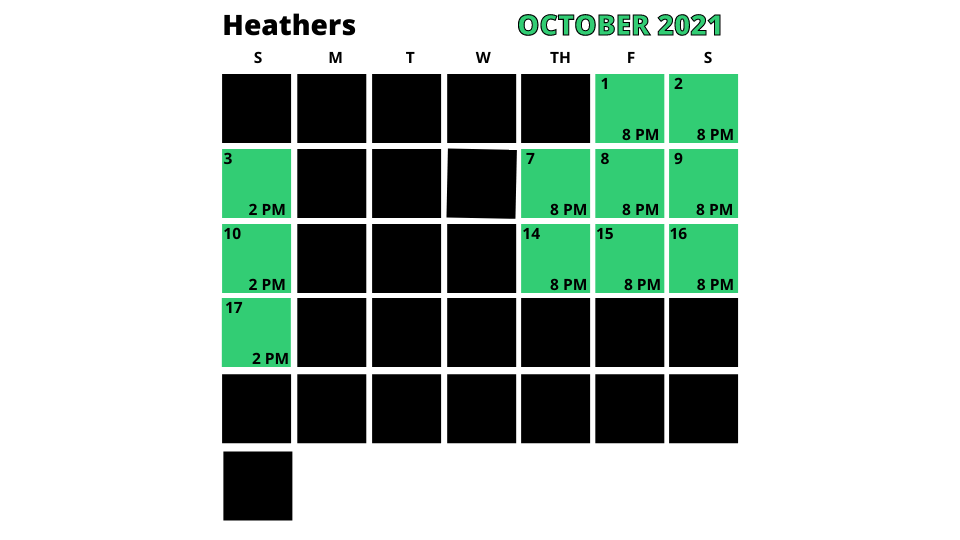 Copy Of Copy Of Copy Of Heathers